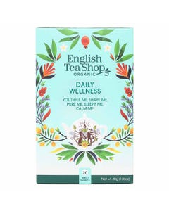 English Tea Shop Daily Wellness Assorted Tea (20 Bags)