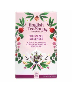 English Tea Shop Women's Wellness Assorted Tea (20 Bags)