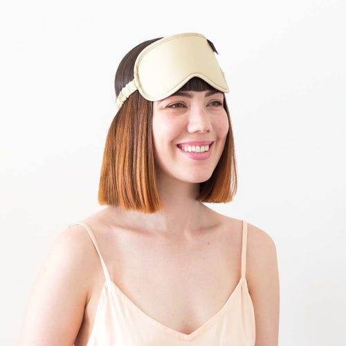Ettitude Organic Bamboo Eye Mask Earthen Sand