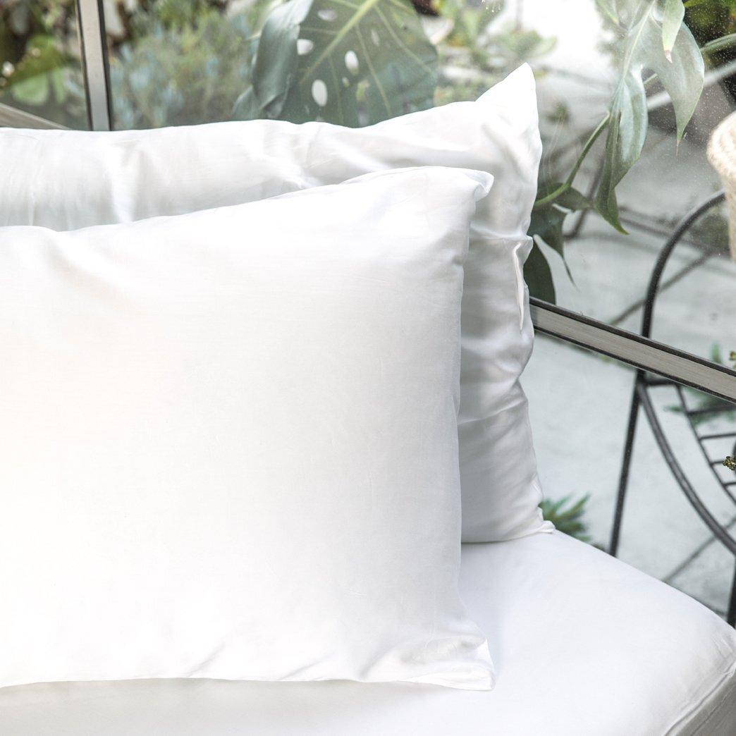 Ettitude Pillowcase Set Feather White