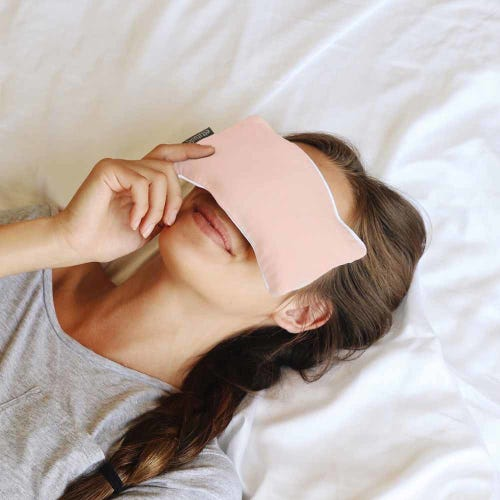 Ettitude Organic Bamboo Eye Pillow Cloud Pink