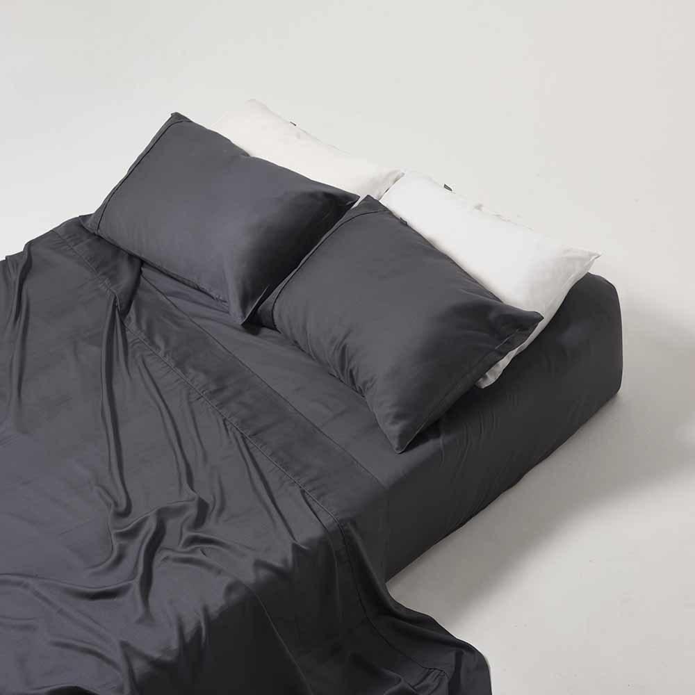 Ettitude Sheet Set Grey - Queen