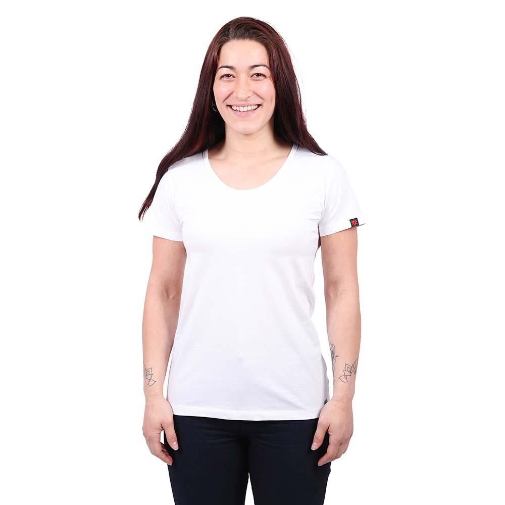 Etiko Women's Round Neck Tee - White