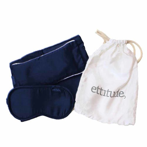 Ettitude Organic Bamboo Travel Kit Blue Nights