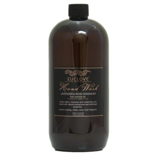Euclove Natural Hand Wash Refill - Lavender & Rose Geranium (1 Litre)