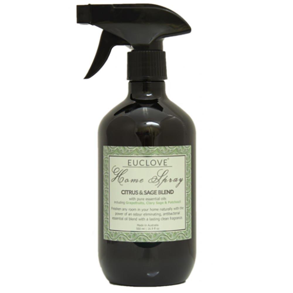 Euclove Natural Home Spray - Citrus & Sage Blend (300ml)