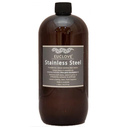 Euclove Natural Stainless Steel Cleaner Refill (1 Litre)