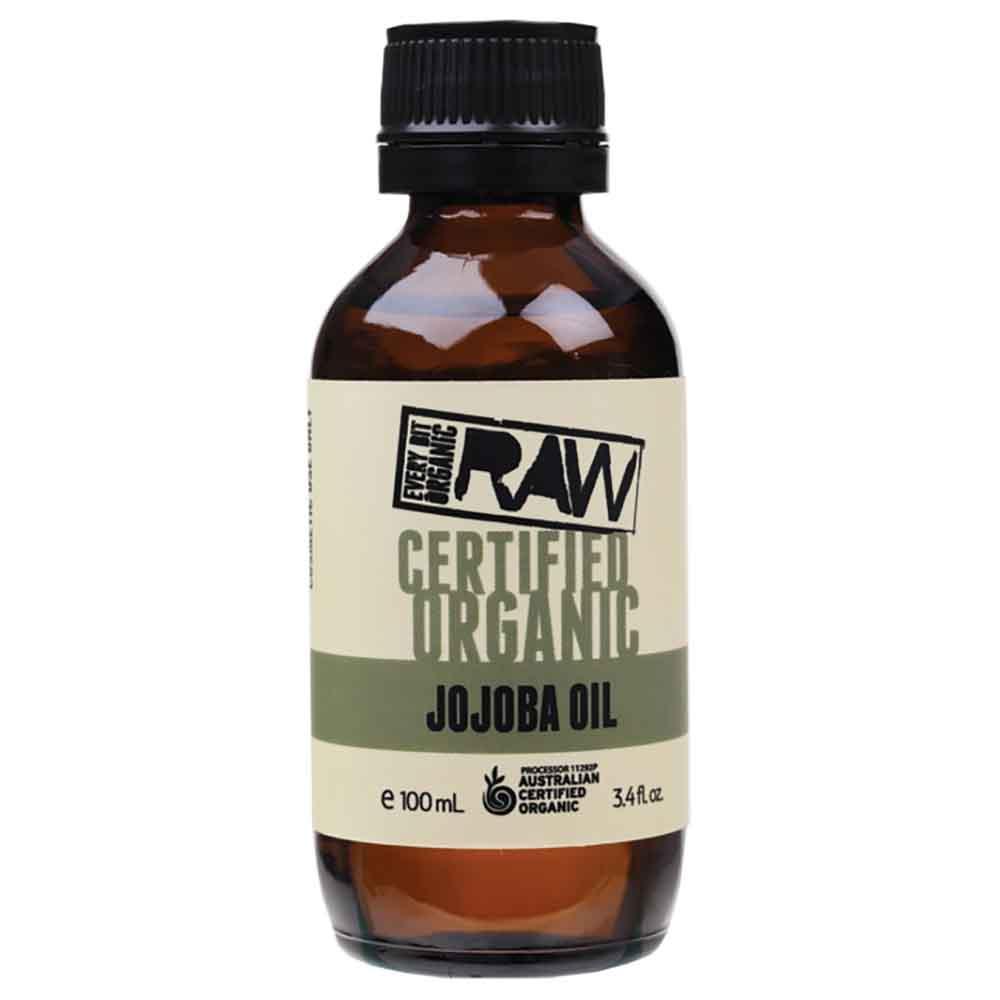 Every Bit Organic Raw Jojoba Oil (100ml)