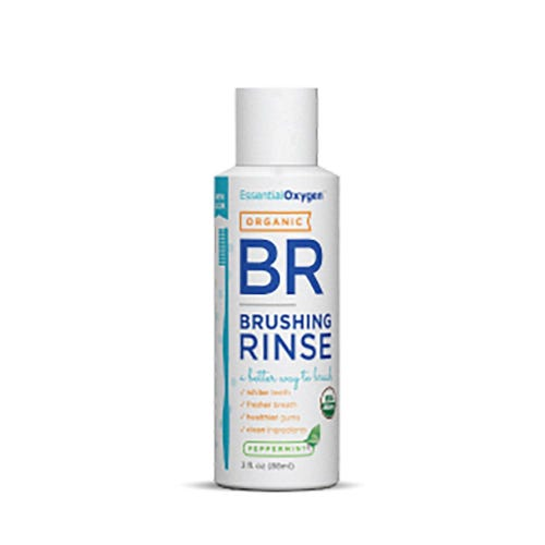 Essential Oxygen Peppermint Brushing Rinse (88ml)