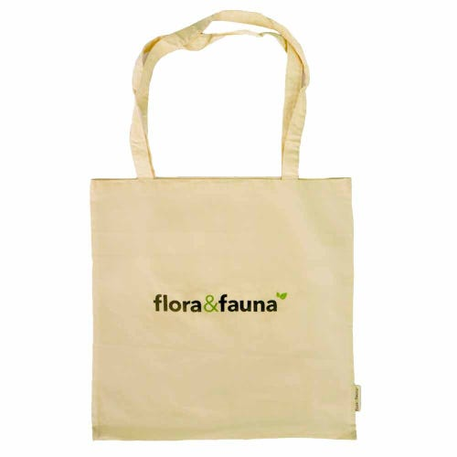 Flora & Fauna Cotton Tote Bag