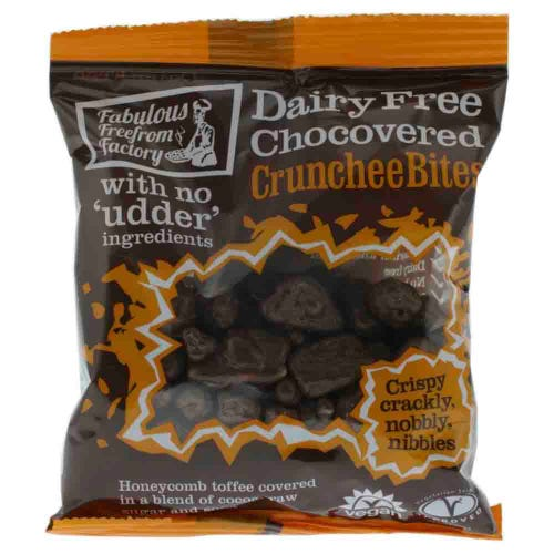 Fabulous Free From Factory Chocolate Covered Crunchee Bites (65g)