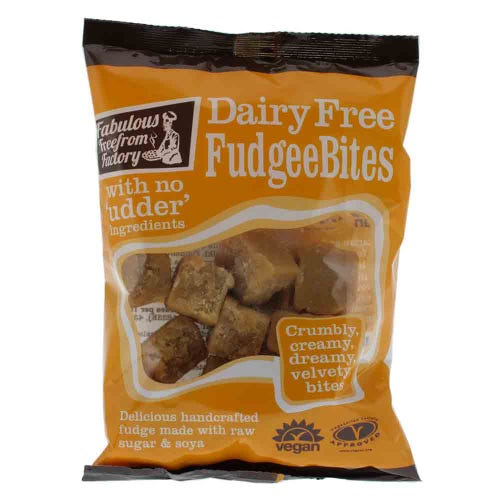 Fabulous Free From Factory Vanilla Fudge Snack Pack (75g)