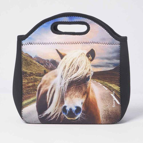 Fearsome In The Wild Lunch Bag Horse