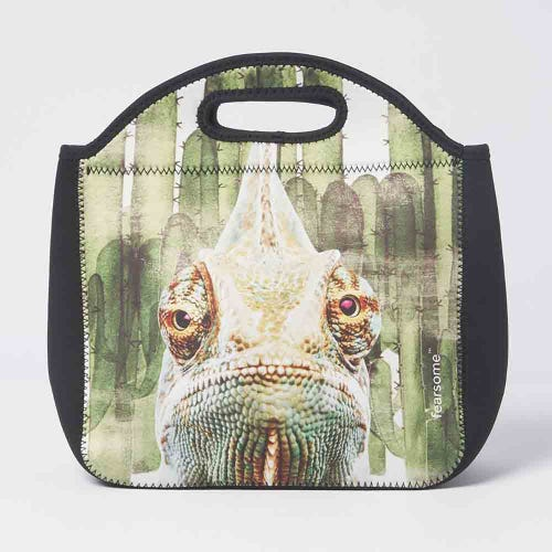 Fearsome In The Wild Lunch Bag Iguana