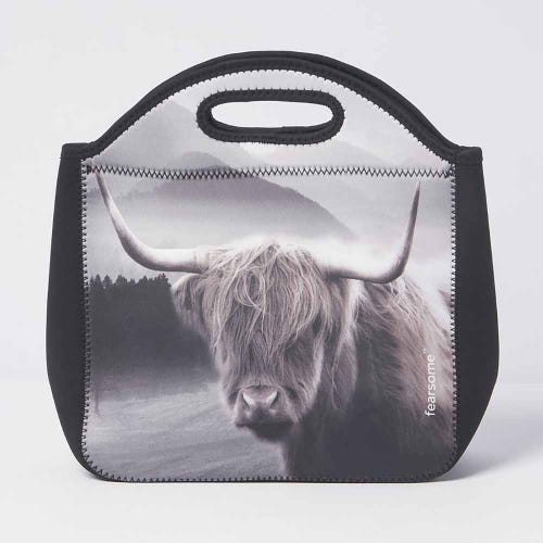 Fearsome In The Wild Lunch Bag Long Horn