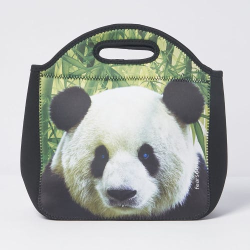 Fearsome In The Wild Lunch Bag Panda