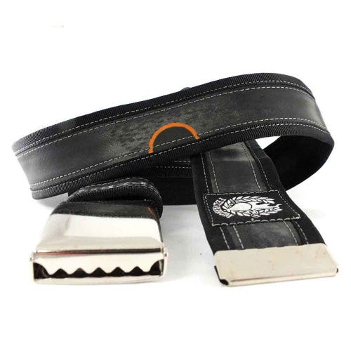 Felvarrom Recycled Inner Tube Belt Black