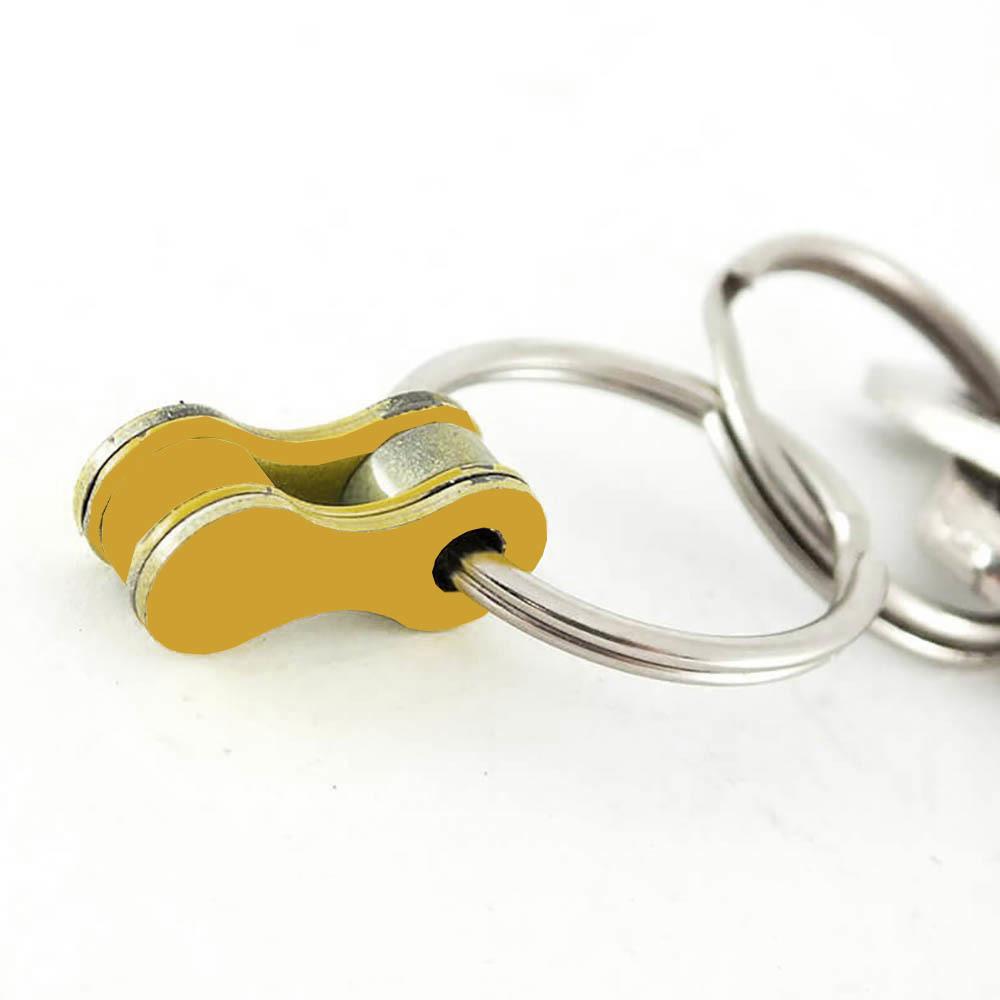 Felvarrom Upcycled Keychain Gold