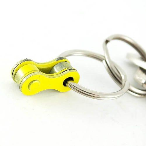 Felvarrom Upcycled Keychain Yellow