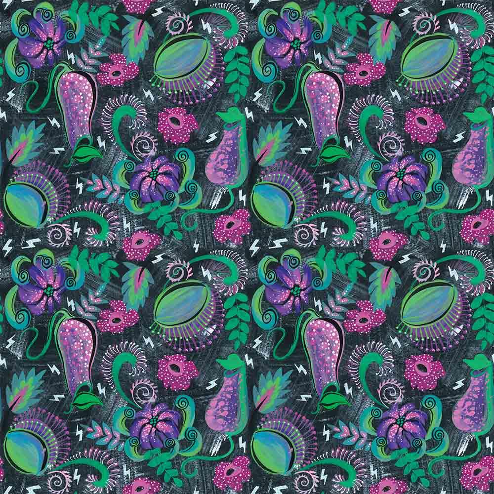 Designer Bums Nursing Pads - Flora Fatale