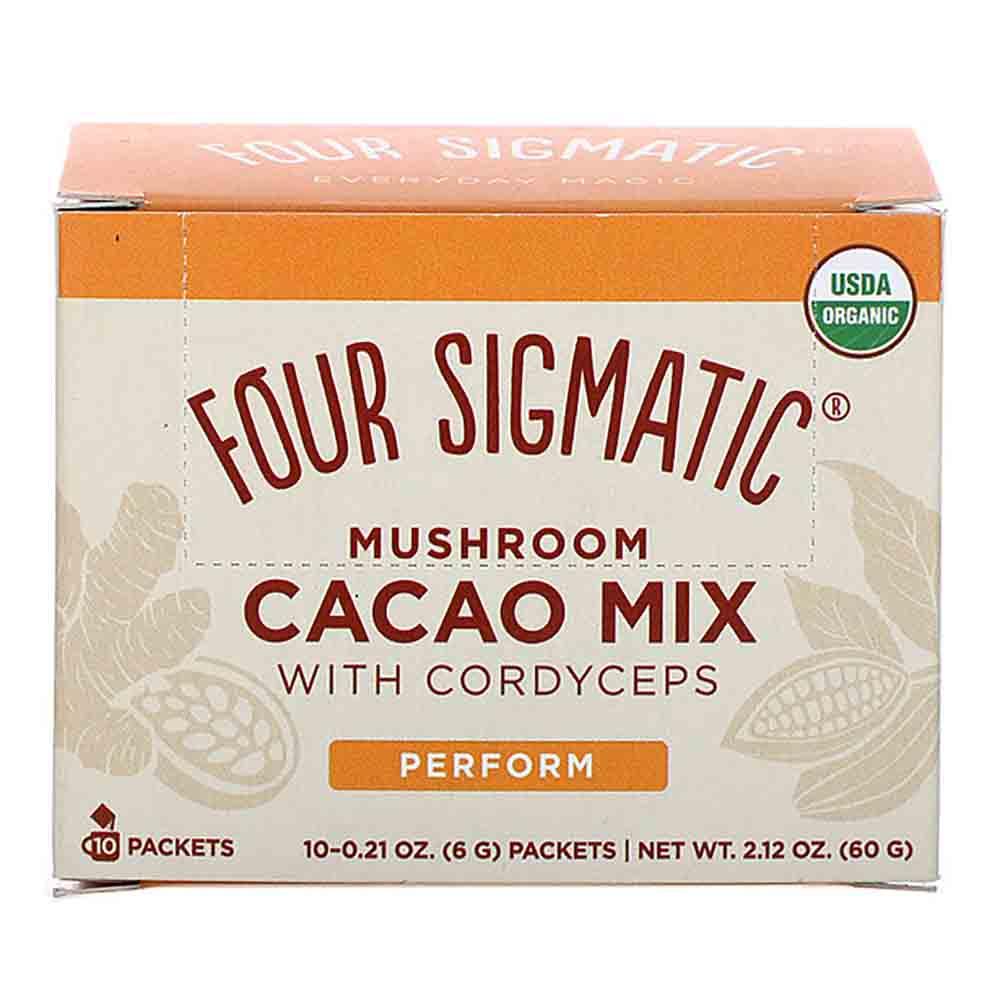 Four Sigmatic Mushroom Hot Cacao Mix Cordyceps (10 Sachets)