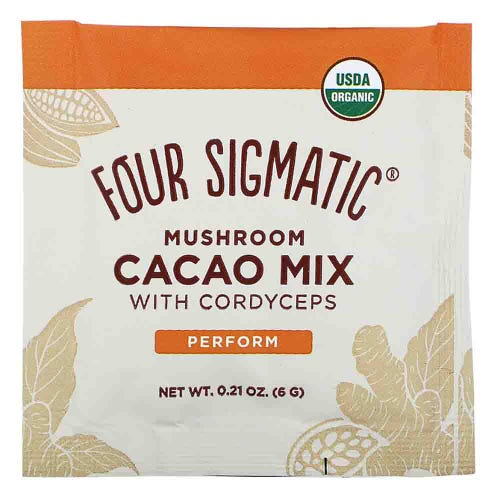 Four Sigmatic Mushroom Hot Cacao Mix Cordyceps (1 Sachet)