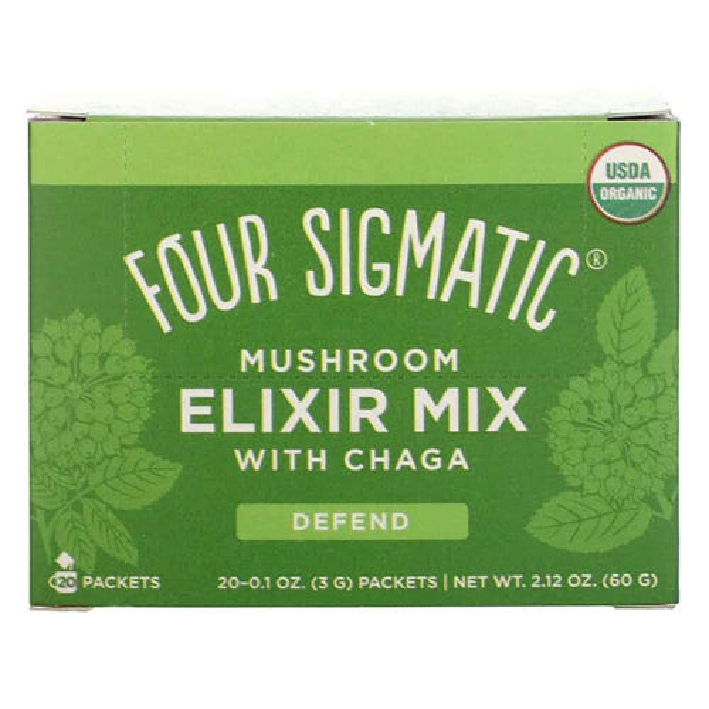 Four Sigmatic Mushroom Elixir Mix Chaga (20 Sachets)