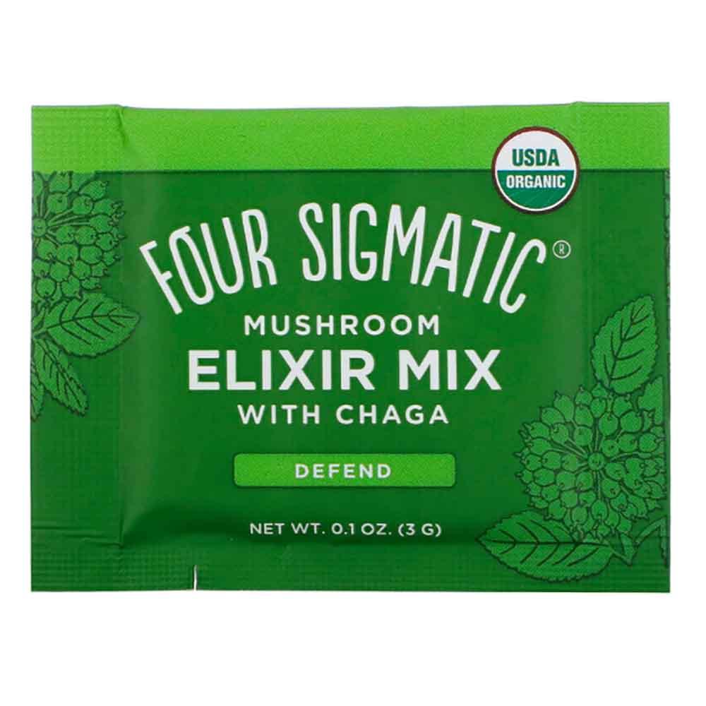 Four Sigmatic Mushroom Elixir Mix Chaga (1 Sachet)