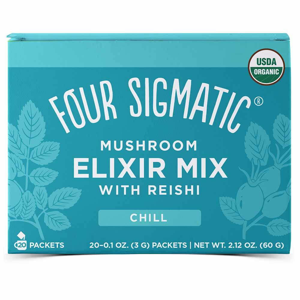Four Sigmatic Mushroom Elixir Mix Reishi (20 Sachets)