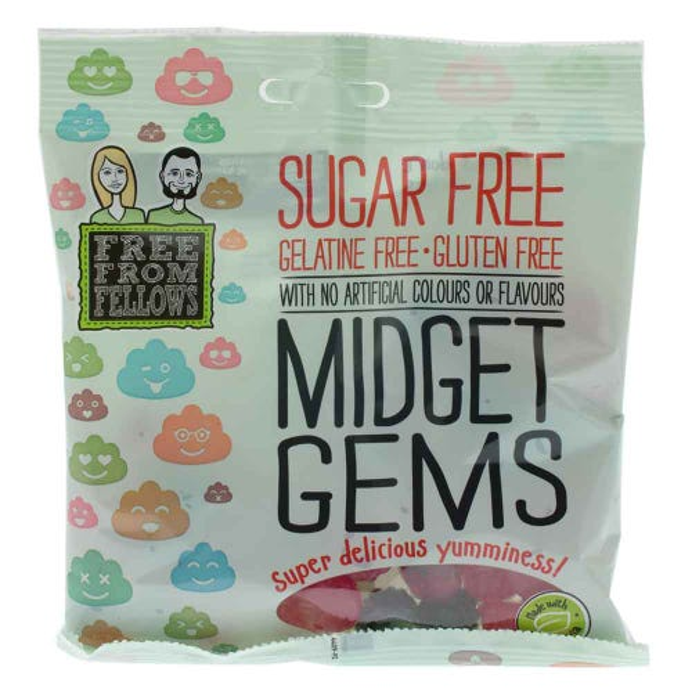 Free From Fellows Midget Gems (100g)