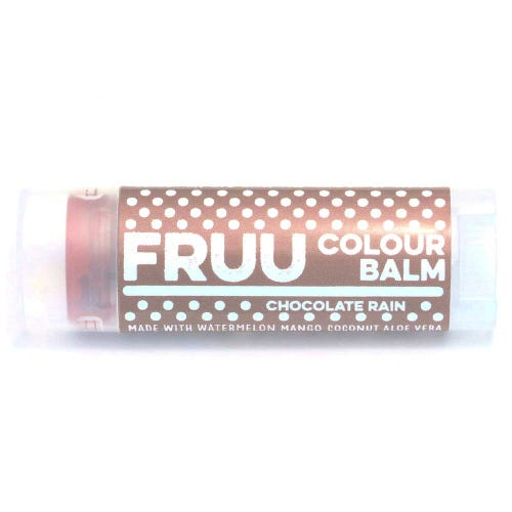 Fruu.. Chocolate Rain Colour Tinted Lip Balm 4.5g