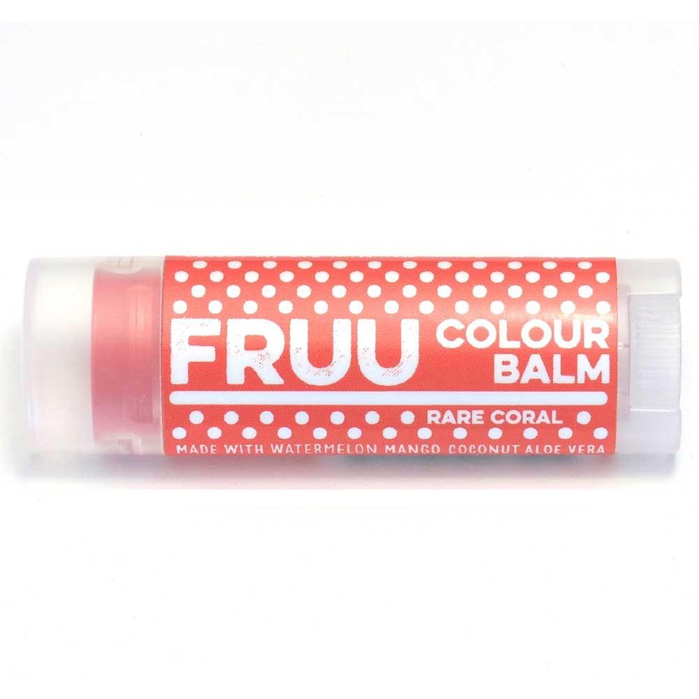 Fruu.. Rare Coral Colour Tinted Lip Balm 4.5g