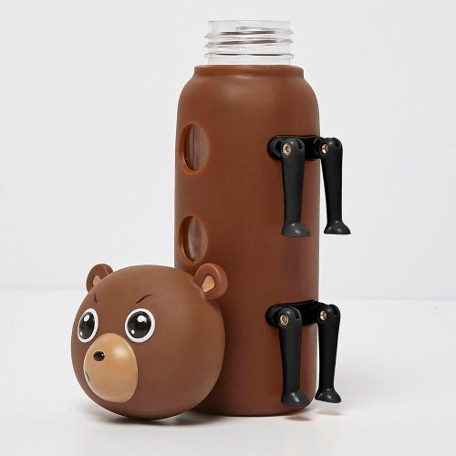 Fearsome Animal Friends Bottle Bear (300ml)