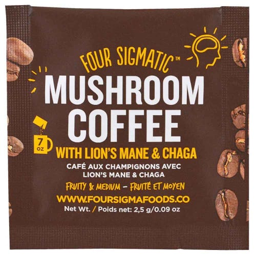 Four Sigmatic Mushroom Coffee Mix Lion's Mane (1 Sachet)