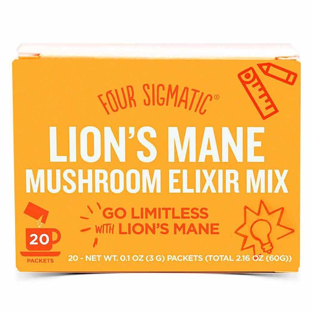 Four Sigmatic Mushroom Elixir Mix Lion's Mane (20 Sachets)