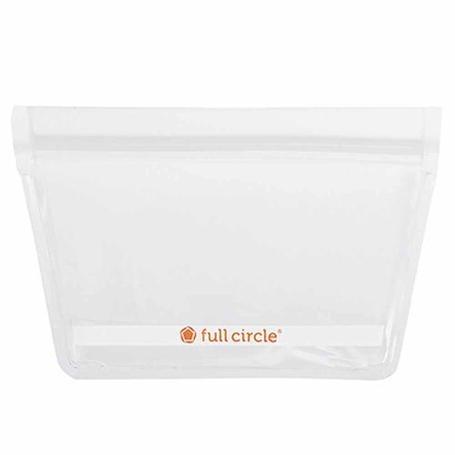 Full Circle Reusable Snack Bags - Clear 2 Pack