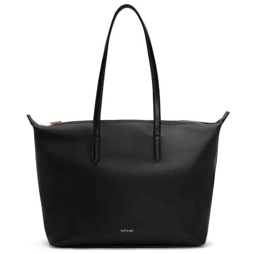 Matt & Nat Abbi Tote - Black & Rose Gold