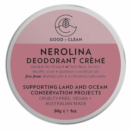 Good + Clean Deodorant Paste Travel Size - Nerolina (30g)