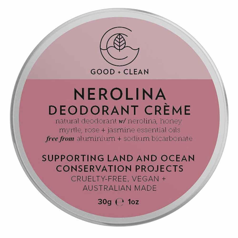 Good + Clean Deodorant Paste Travel Size - Nerolina (30g)