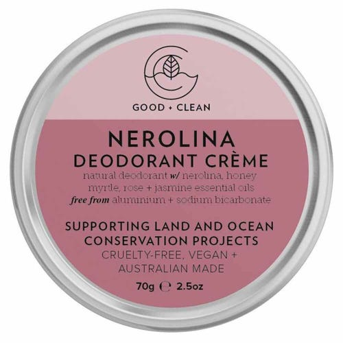 Good + Clean Deodorant Paste - Nerolina (70g)