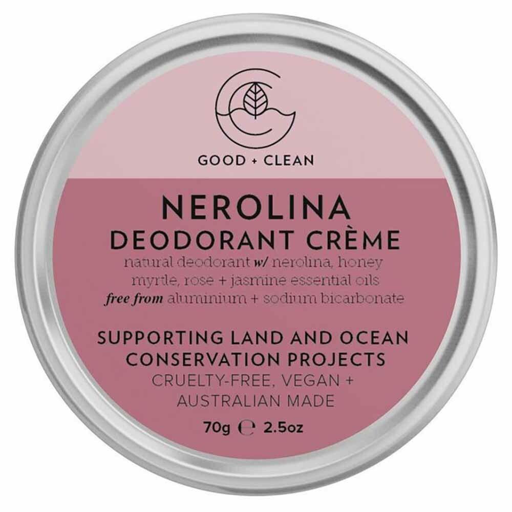 Good + Clean Deodorant Paste - Nerolina (70g)