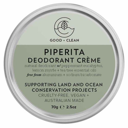 Good + Clean Deodorant Paste - Piperita (70g)