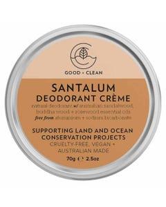 Good + Clean Deodorant Paste - Santalum (70g)