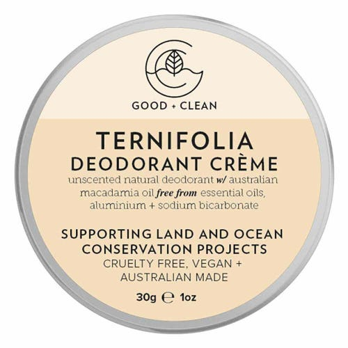 Good + Clean Deodorant Paste Travel Size - Ternifolia (30g)