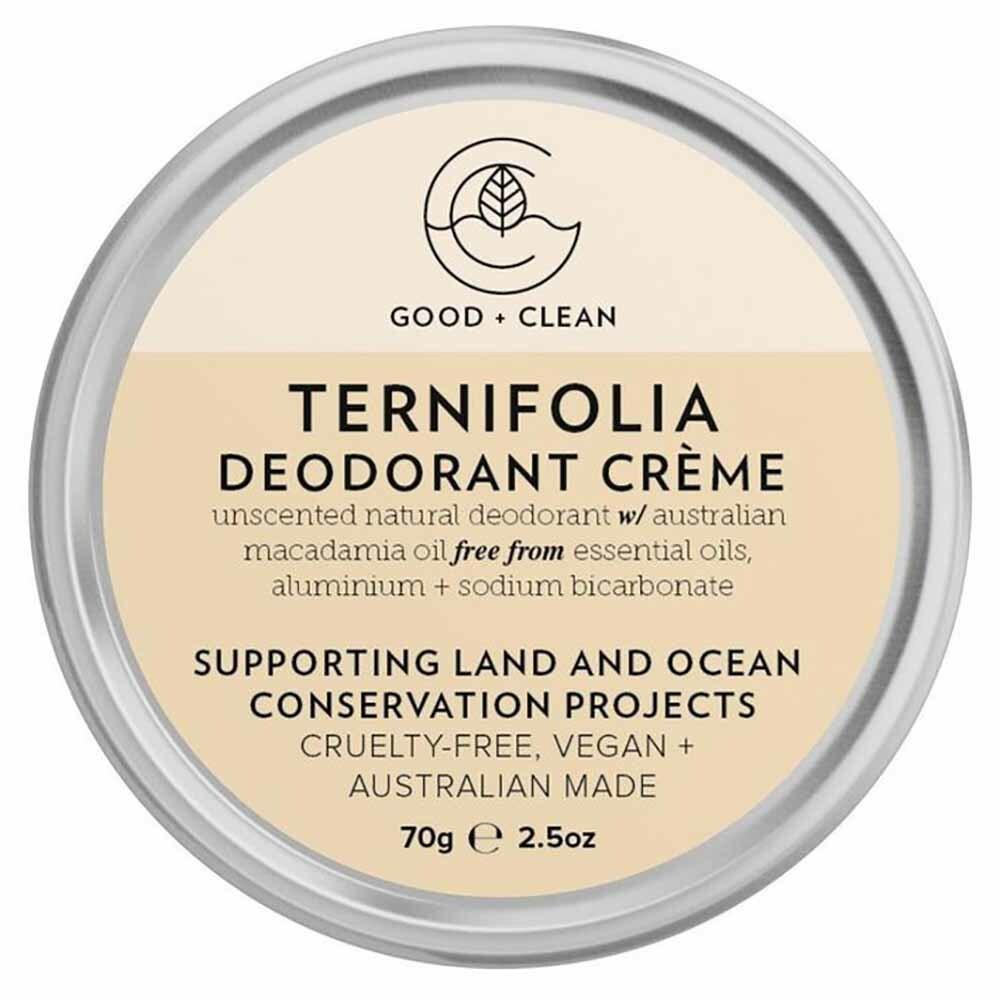 Good + Clean Deodorant Paste - Ternifolia (70g)