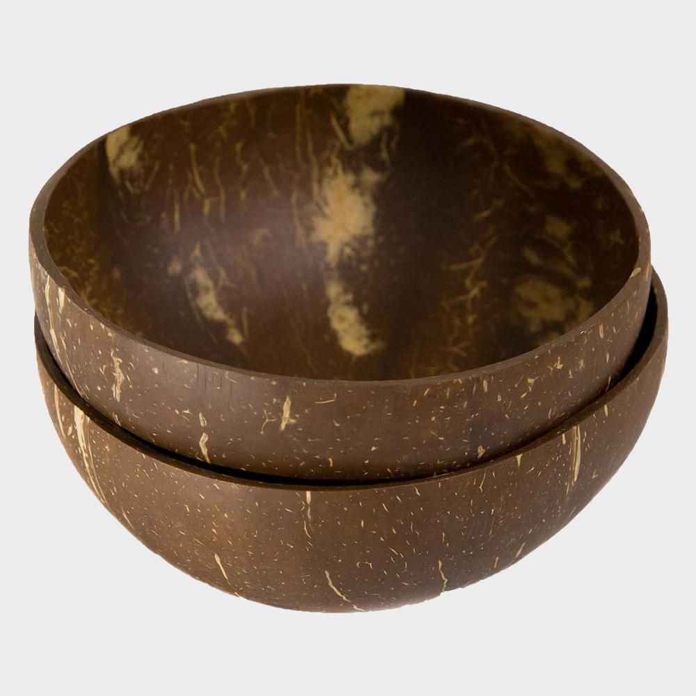 Green + Kind Natural Coconut Bowl 2 Pack