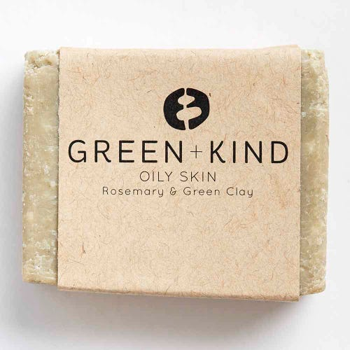 Green + Kind Facial Cleansing Bar - Oily Skin (100g)