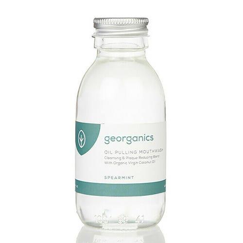 Georganics Oil Pulling Mouthwash - English Peppermint