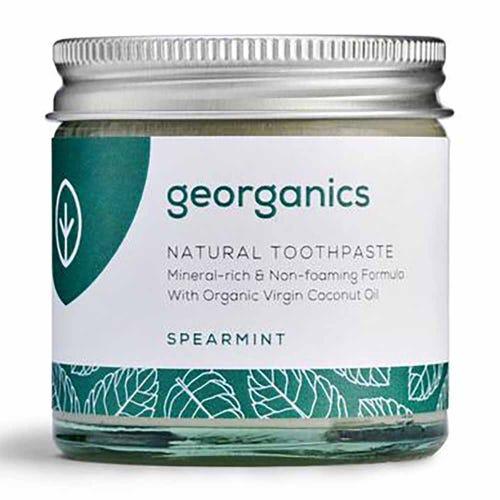 Georganics Natural Mineral-Rich Toothpaste - Spearmint