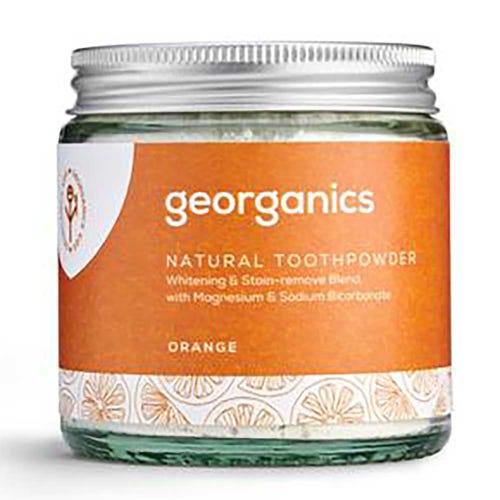 Georganics Natural Toothpowder - Orange (60ml)